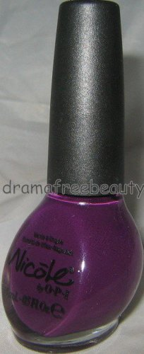 BN Nicole OPI Crave Limited Editin *THE GRAPE DEBATE* Deep Plum/Purple Creme HTF