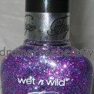Wet n Wild FERGIE Glitter Nail Polish *XOXO* Fuschia, Purple & Blue Glitters BN