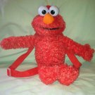 "15"" Stuffed Plush ELMO Toddler Zipper Backpack/Purse  Pre-owned But Great!"