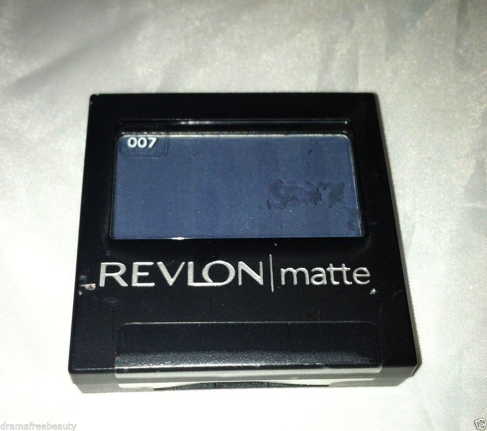 Revlon Matte Eye Shadow * 007 RIVIERA BLUE * Sealed Brand New