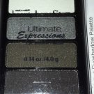Wet n Wild Ultimate Expression Eyeshadow Palette Quad *SMOKEY* Charcoal Grey BN