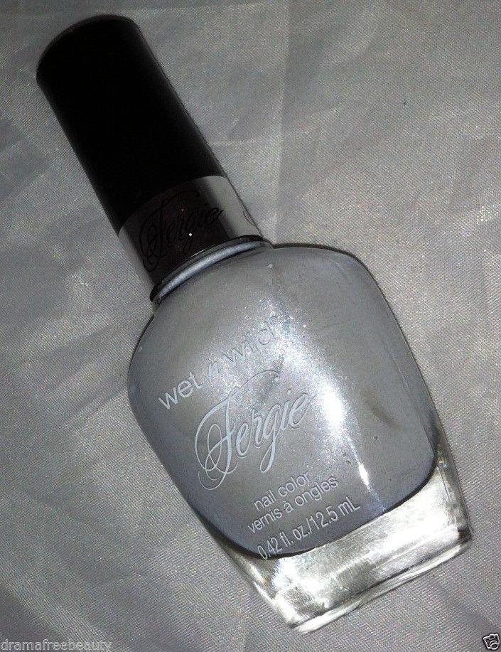 Wet n Wild FERGIE Limited Edition Nail Polish *WEDDING DAZE* Shimmery Dove White