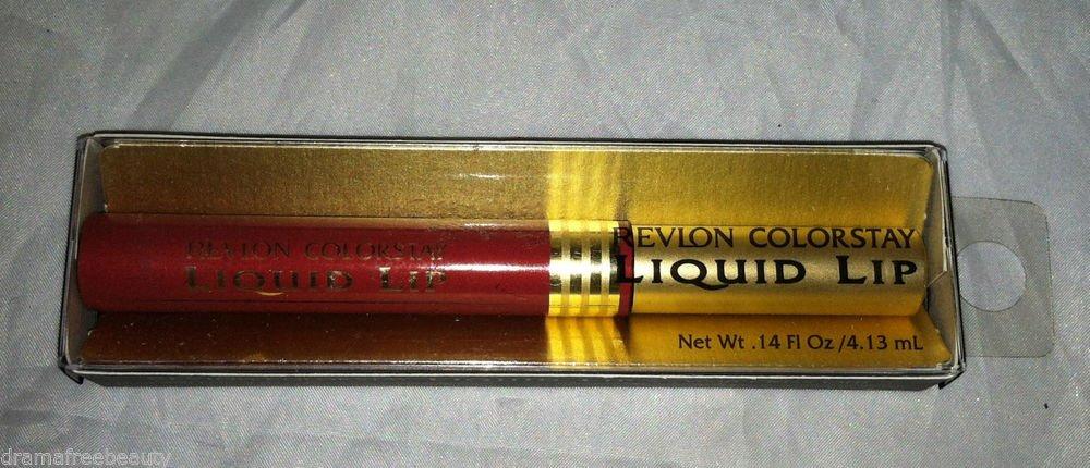 Revlon Colorstay Liquid Lip Color /Lipstick *14 PUNCH* Smooth Satin Color New