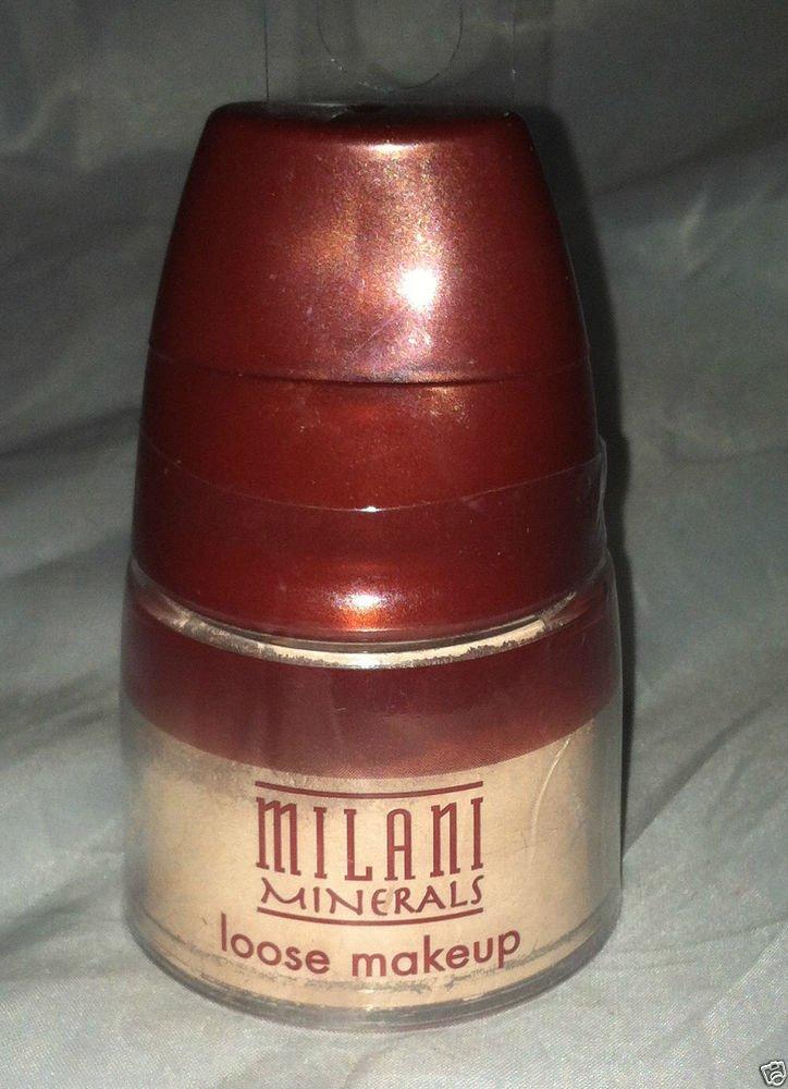 Milani Minerals Loose Makeup Foundation * 05 HONEY BEIGE * Sealed Brand New