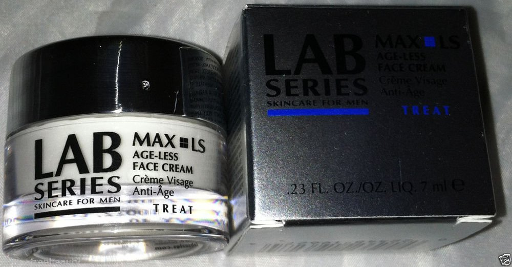 Lab Series Treat For Men *MAX LS Age-Less Face Cream* Travel Mini .23oz/7ml BNIB