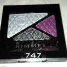 Rimmel London Glam Eyes Trio Eye Shadow * 747 DARK ANGEL * Sealed Brand New