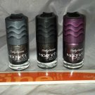 Sally Hansen Magnetic Nail Polish 3 Shades & Nail File *Handle With Care*  Lot