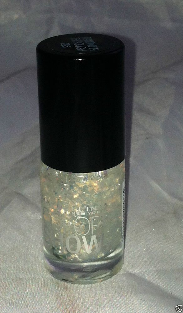 Maybelline Nail polish Color Show * 285 DIAMOND IN THE ROUGH* Holographic Flakie