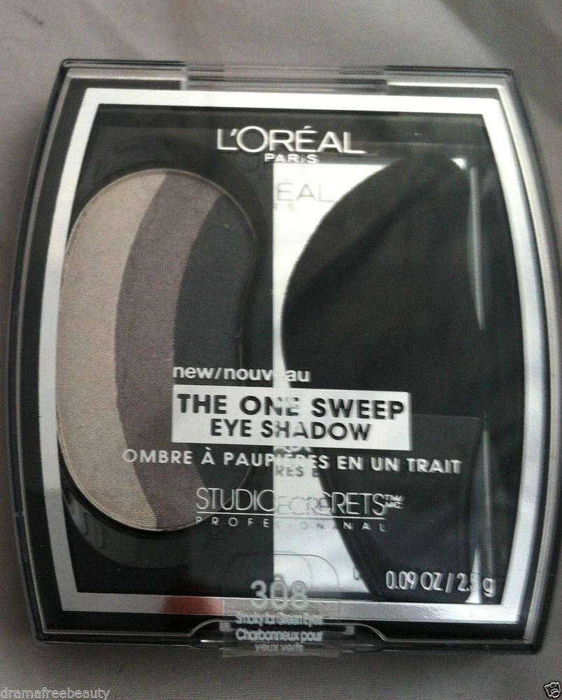 L'Oreal The One Sweep Eye Shadow Studio Secrets * 308 SMOKEY FOR GREEN EYES * BN