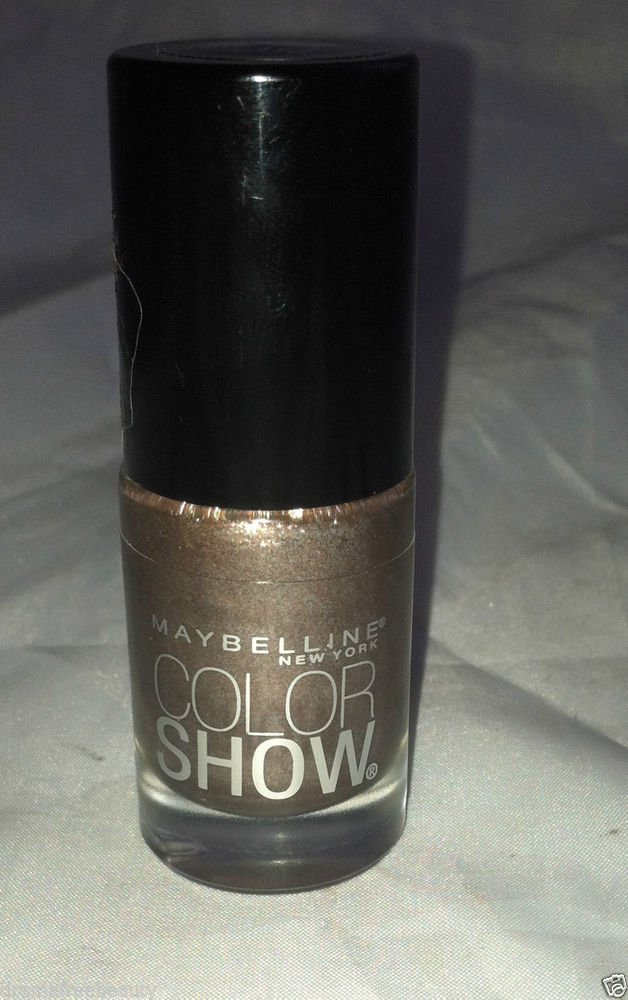 Maybelline Nail polish Color Show * 041 DUST OF BRONZE * Light Shimmery Bronze