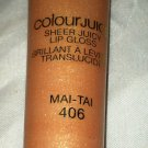 L'Oreal Colour Juice Sheer Juicy Lip Gloss * MAI-TAI *  Brand New