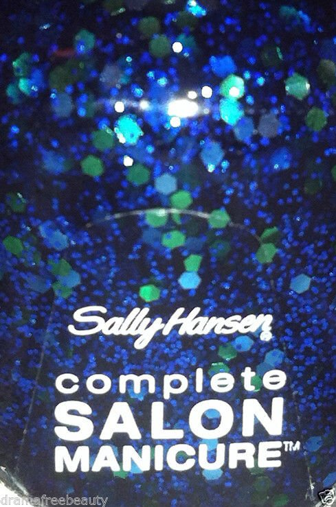 Sally Hansen Complete Salon Manicure Nail Polish *560 MERMAID'S TALE* Blue/Green