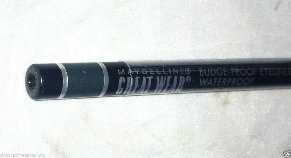 Maybelline Great Wear Waterproof Eyeliner * 10 JADE * Sealed Brand New