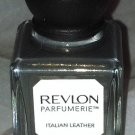 Revlon parfumerie Scented Nail Polish * 130 ITALIAN LEATHER * Khaki Grey w/ Gold