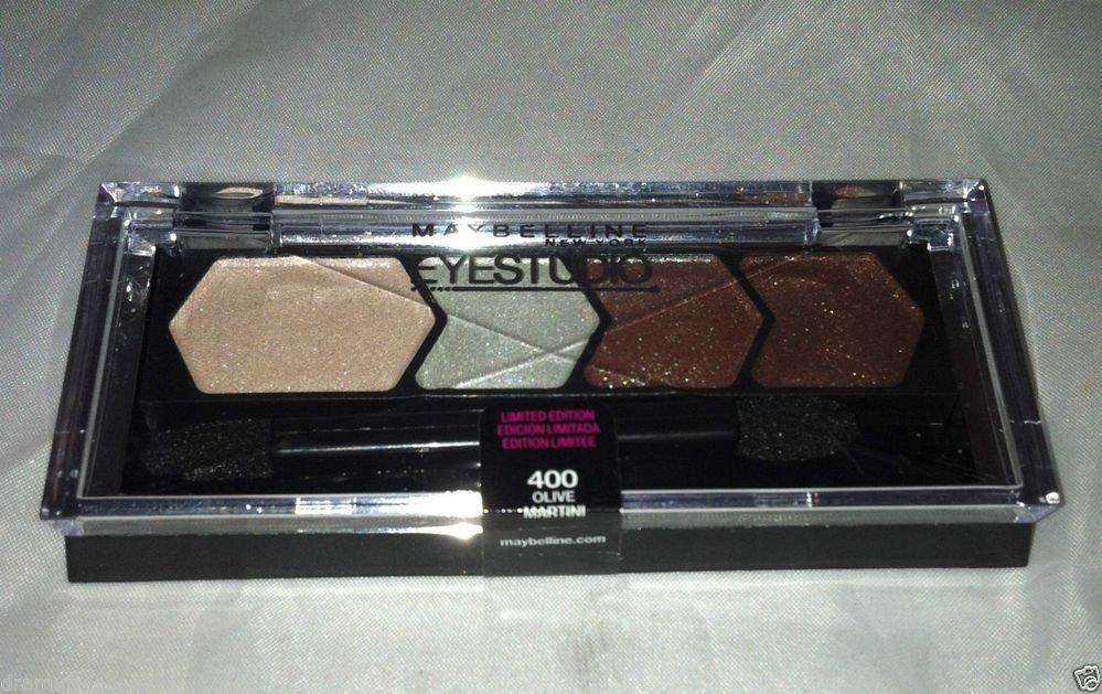 Maybelline Eye Studio Eyeshadow * 400 OLIVE MARTINI * Limited Edition Sealed