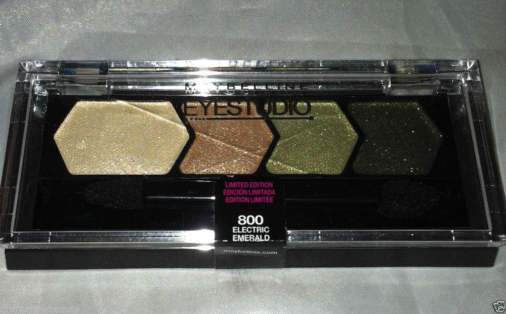 Maybelline Eye Studio Eyeshadow * 800 ELECTRIC EMERALD * Limited Edition Sealed