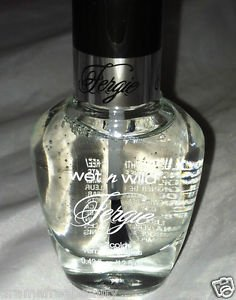 Wet n Wild FERGIE Top Coat Nail Polish *CLEAR COAT* Brand New Full Size 12.5ml.
