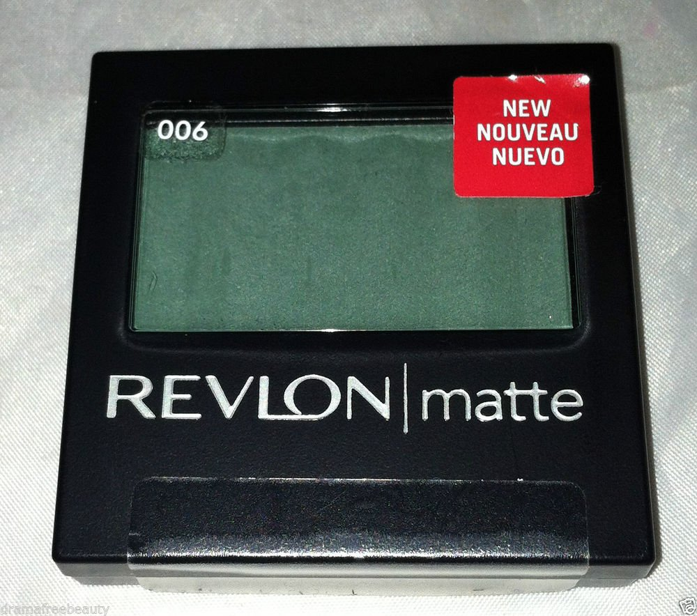 Revlon Matte Eye Shadow * 006 TEMPTING TEAL * Sealed Brand New