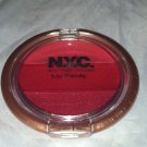 NYC Lip Candy Lip Gloss * SOHO SWEET TART * Brand New Red Pink Shimmer