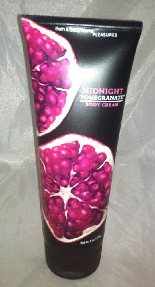 Bath & Body Works Promegranate Body Cream Brand New 8oz. Size For Daily Beauty