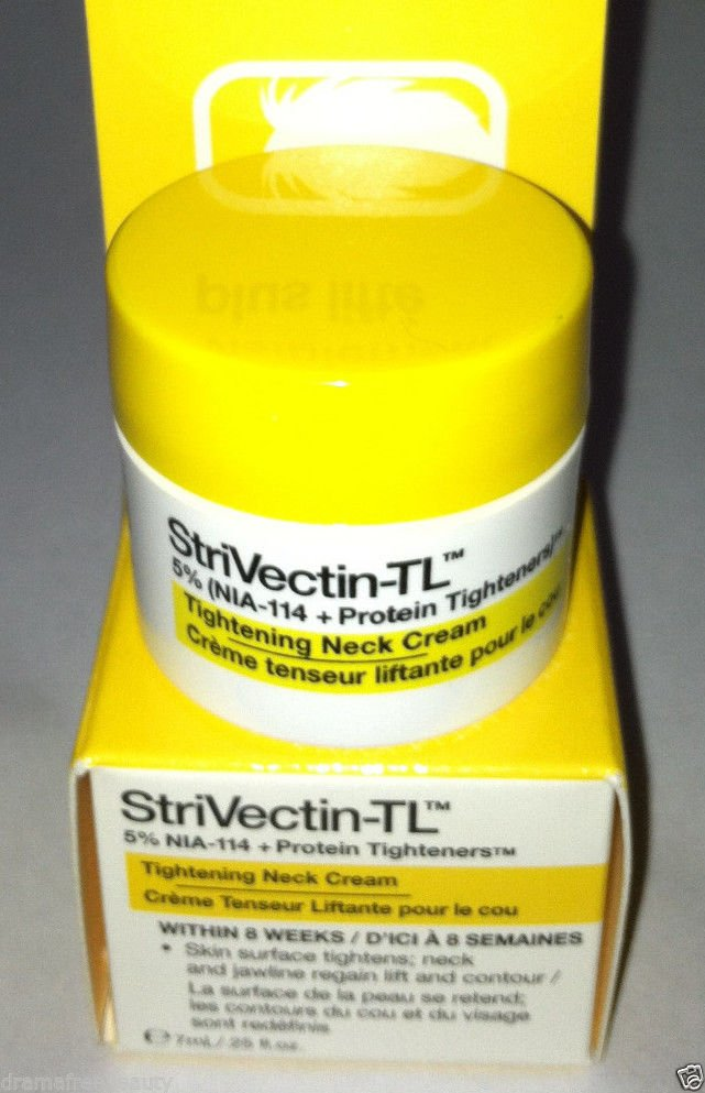 StriVectin-TL *Tightening Neck Cream* 7ml/.25oz Deluxe Travel Mini Brand New Box