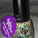 Salon Perfect Professional Nail Polish Top Coat * 618 RUBY'S CUBES * Retro 80's