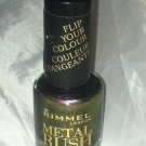 Rimmel Metal Rush * 90 BRONZE PRINCESS * Flip Your Color Duo-Chrome Nail Polish