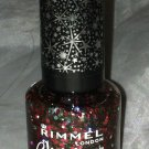 Rimmel Glitter Bomb Top Coat Glitter Hex Top Coat * MIDNIGHT MISTLETOE * Holo BN