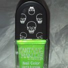 Wet n Wild RIP Fantasy Makers Nail Polish * ROACH BUSTERS * Light Green w/ Gold