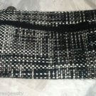 Gloss Tweed Zipper Makeup/Cosmetic  Case/Carrying Bag  Brand New