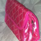 Beauty Brands Pink  Makeup/Cosmetic  Case/Carrying Bag w/ Mirror Brand New