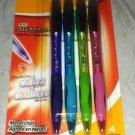 Bic Atlantis Ball Pen Fashion Colors 4pc Sealed Brand New Pink/Green/Blue/Purple