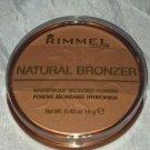 Rimmel Natural Bronzer Waterproof * 021 SUN LIGHT * Sealed Brand New