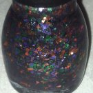 Sinful Colors Halloween Top Coat *MYSTERY MOONSHINE* Orange/Green/Purple Glitter