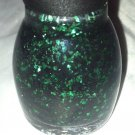Sinful Colors Pro Nail Polish * CAULDRON COUTURE * Green/Black Halloween Glitter