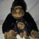 Kohl's Cares For Kids Mom Gorilla w/ Babby  Stuffed/Plush Animal/Toy