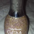 Sally Hansen GEM Crush Nail Polish * 03 BIG MONEY * Gold Micro w/ Pink Micro/Hex