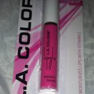 L.A. Colors Lip Gloss * BLG67 PARADISE PINK * Vibrant Barbie Pink Shade New