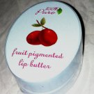100% Pure Natural Fruit Pigmented Lip Butter *CRANBERRY* Red Brand New & Sealed