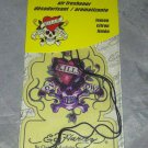 Ed Hardy Car/Auto Air Freshener * LEMON * Skull Heart Tattoo Design New