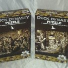 2 Cardinal 300 pc Puzzle Lot A&E DUCK DYNASTY Sealed Brand New