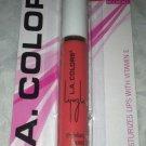 L.A. Colors Lip Gloss * BLG66 CORAL CRUSH * Peachy Warm Toned Coral Shade New