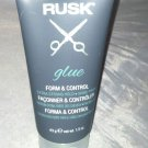 Rusk Form & Control Extra Strong Hold Hair Styling Glue 1.5oz Travel Size New