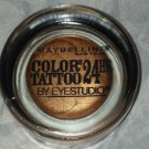 Maybelline COLOR TATTOO 24HR Cream Eyeshadow * 100 CARAMEL COOL * Brand New
