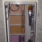 BN Hard Candy Sheer Envy 6 Color Conceal & Corrector Palette 941 *LIGHT MEDIUM*