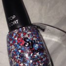 Salon Perfect Special Effects Top Coat *PA-TRI-OTIC* 4th July Triangle Glitters