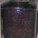 Pure Ice Nail Polish 1014 *RESPECK* Black Pink Blue Silver Micro Shimmer Glitter