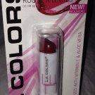 L.A. Colors Lip Color Moisture Lipstick BLC3 *LUSCIOUS WINE* w/Vitamin E & Aloe