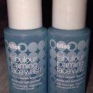 Bliss Fabulous Foaming Face Wash 2-in-1 Cleanser Exfoliator 2 X 1oz Mini Lot Set