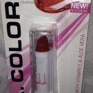 L.A. Colors Lip Color Moisture Lipstick in BLC7 * BERRY RED * w/Vitamin E & Aloe